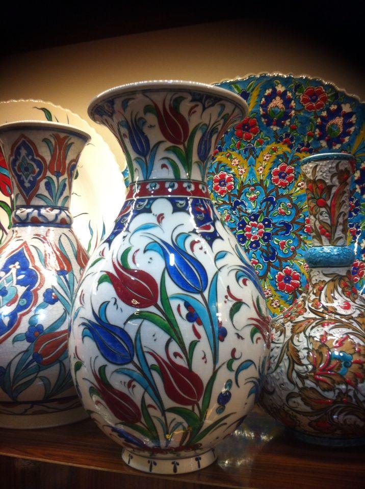Savukduranhotmail Iznik Vases 200 Ceramic Seramik Pinterest