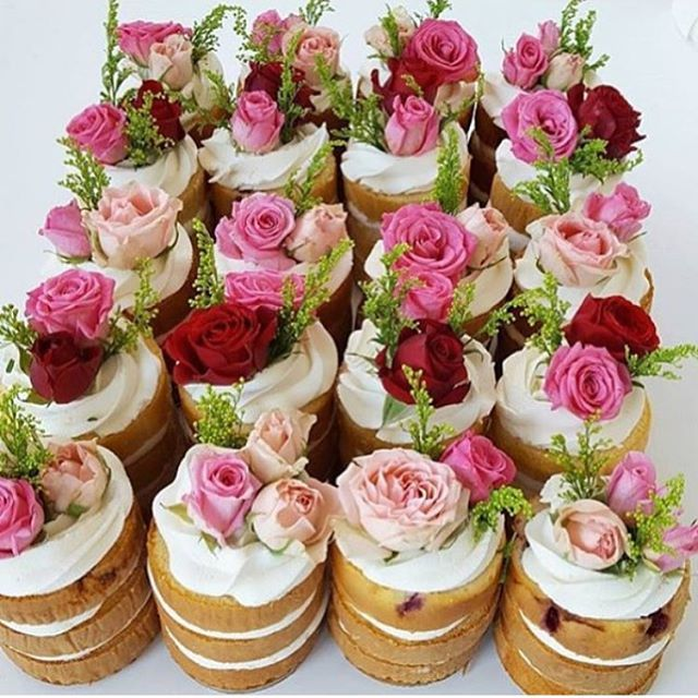 how gorgeous are these mini naked cakes for your guests kids tea partiesgarden. beautiful ideas. Home Design Ideas
