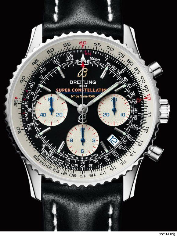 Breitling Navitimer Super Constellation Limited Edition | For more luxury limited editions visit http://designlimitededition.com/