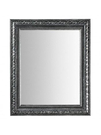 specchio rettangolare con cornice in legno intagliato di color ...