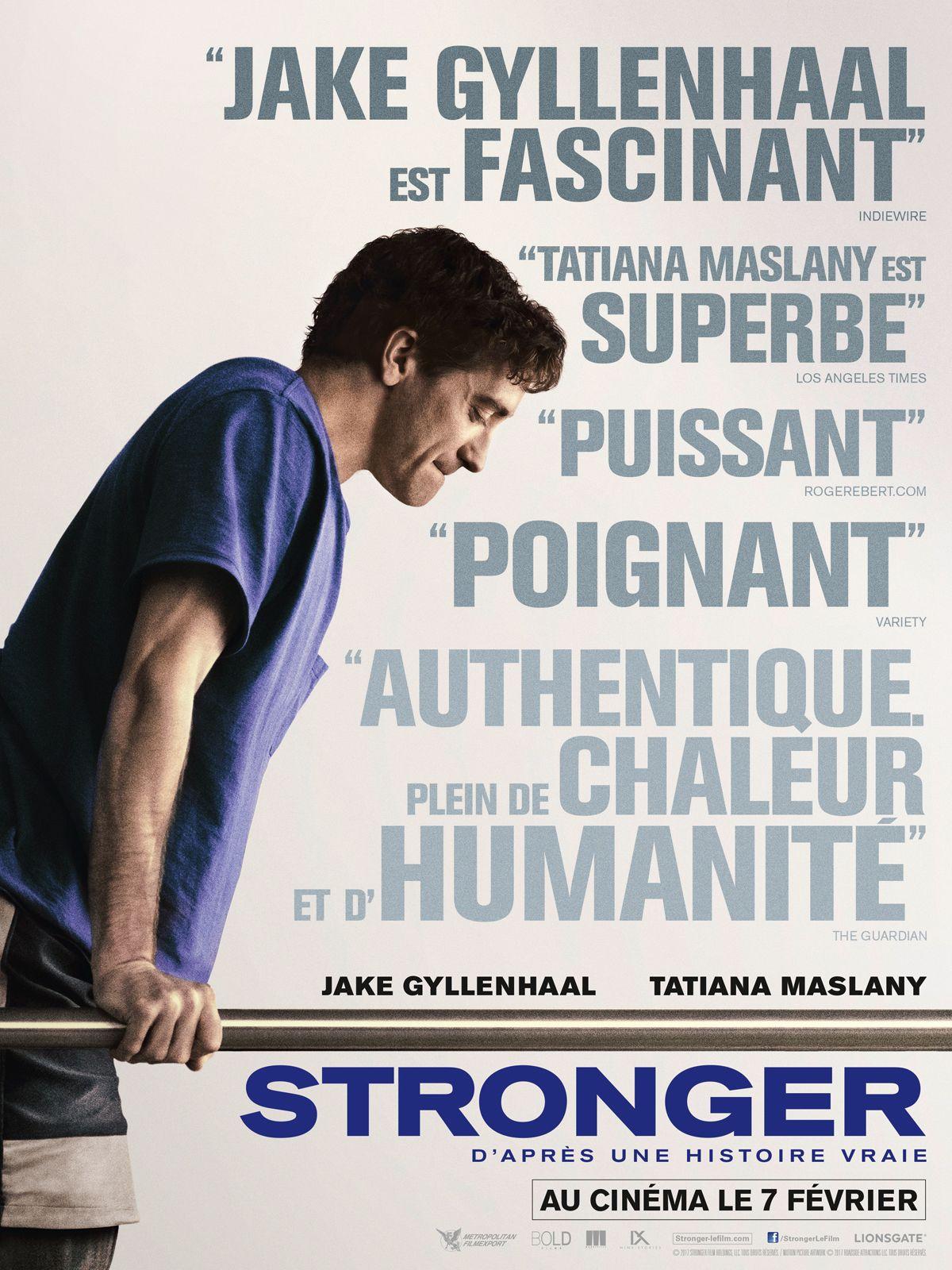 D Après Une Histoire Vraie Qui Est L : après, histoire, vraie, STRONGER, D'après, Histoire, Vraie, Gyllenhaal,, Film,