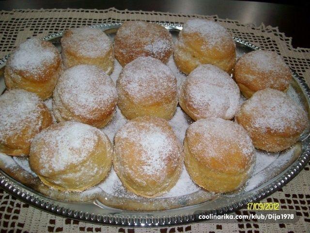 Krofne Iz Rerne Coolinarika English Food Dessert Recipes Cooking Recipes