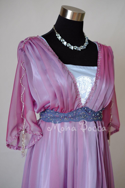 Edwardian titanic dress downton abbey inspired womens