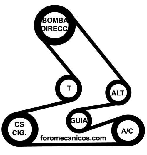 2008 Honda Accord Belt Diagram