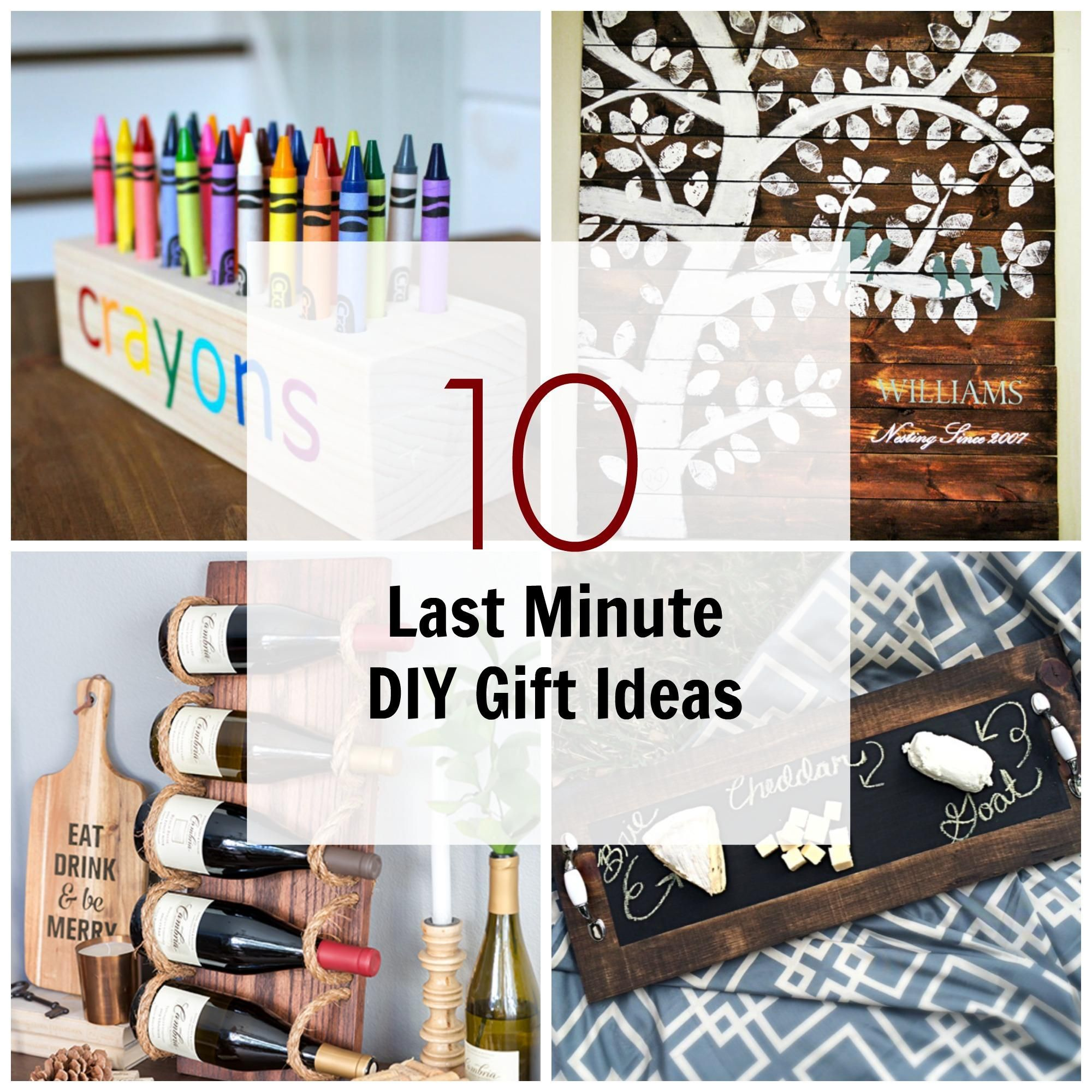 10 last minute diy wood gifts that you can make wood on useful diy wood project ideas id=20614