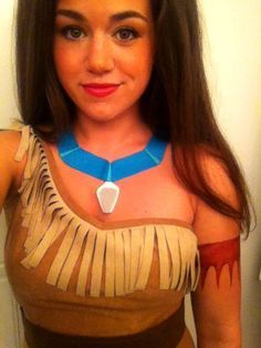 Y Pocahontas Costume Diy Google Search