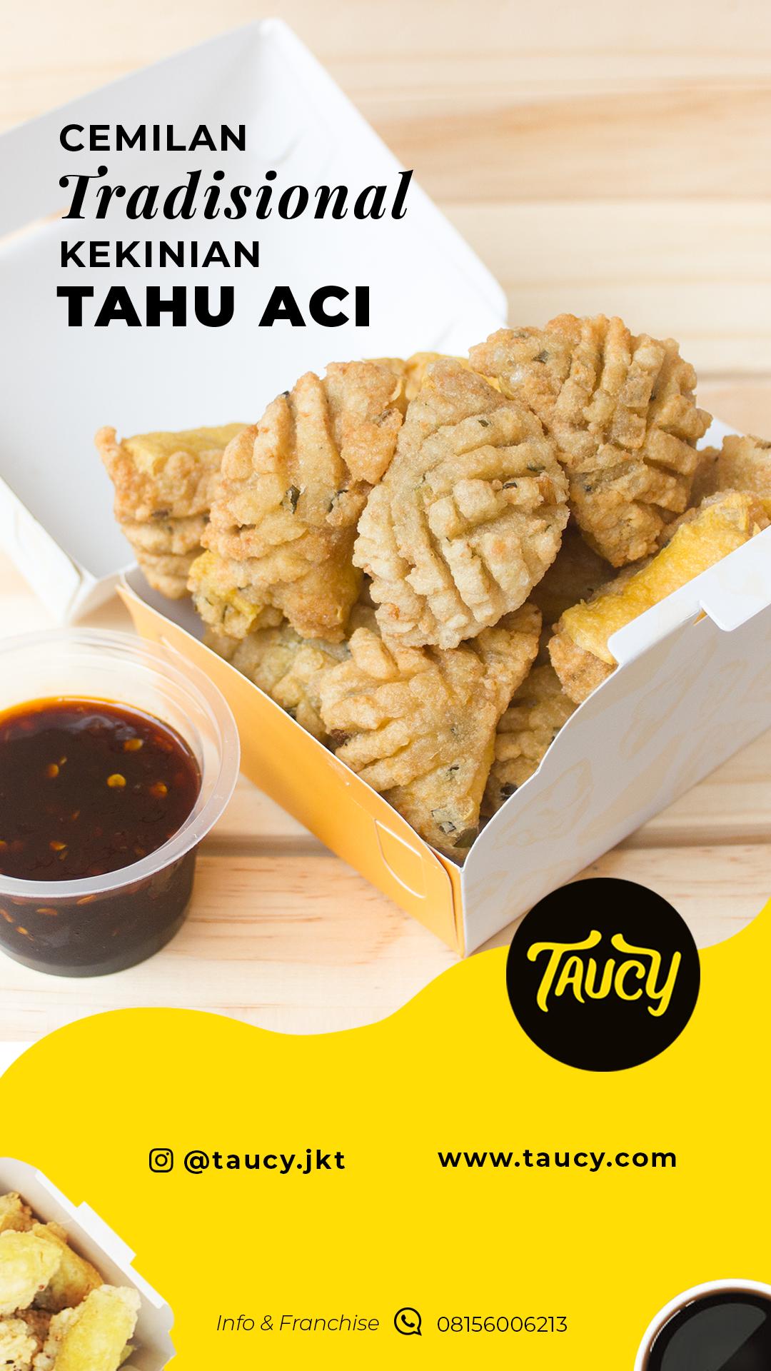 Taucy Design Makanan Cemilan