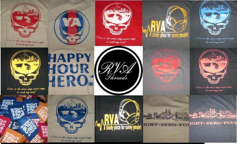 RVA Threads - Screen Printed Shirts  www.rvathreads.com