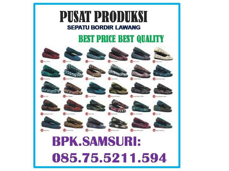 Pin Di 085 75 5211 594 Sepatu Bordir Populer Sepatu Bordir