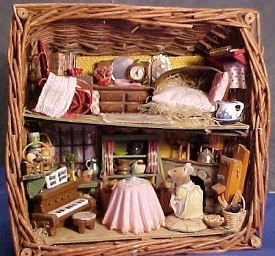 Mouse House Inspiration Doll House Doll House Crafts Elf House