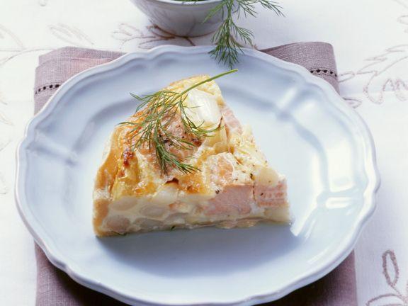 Spargelquiche mit Lachs ist ein Rezept mit frischen Zutaten aus der Kategorie Quiche. Probieren Sie dieses und weitere Rezepte von EAT SMARTER!