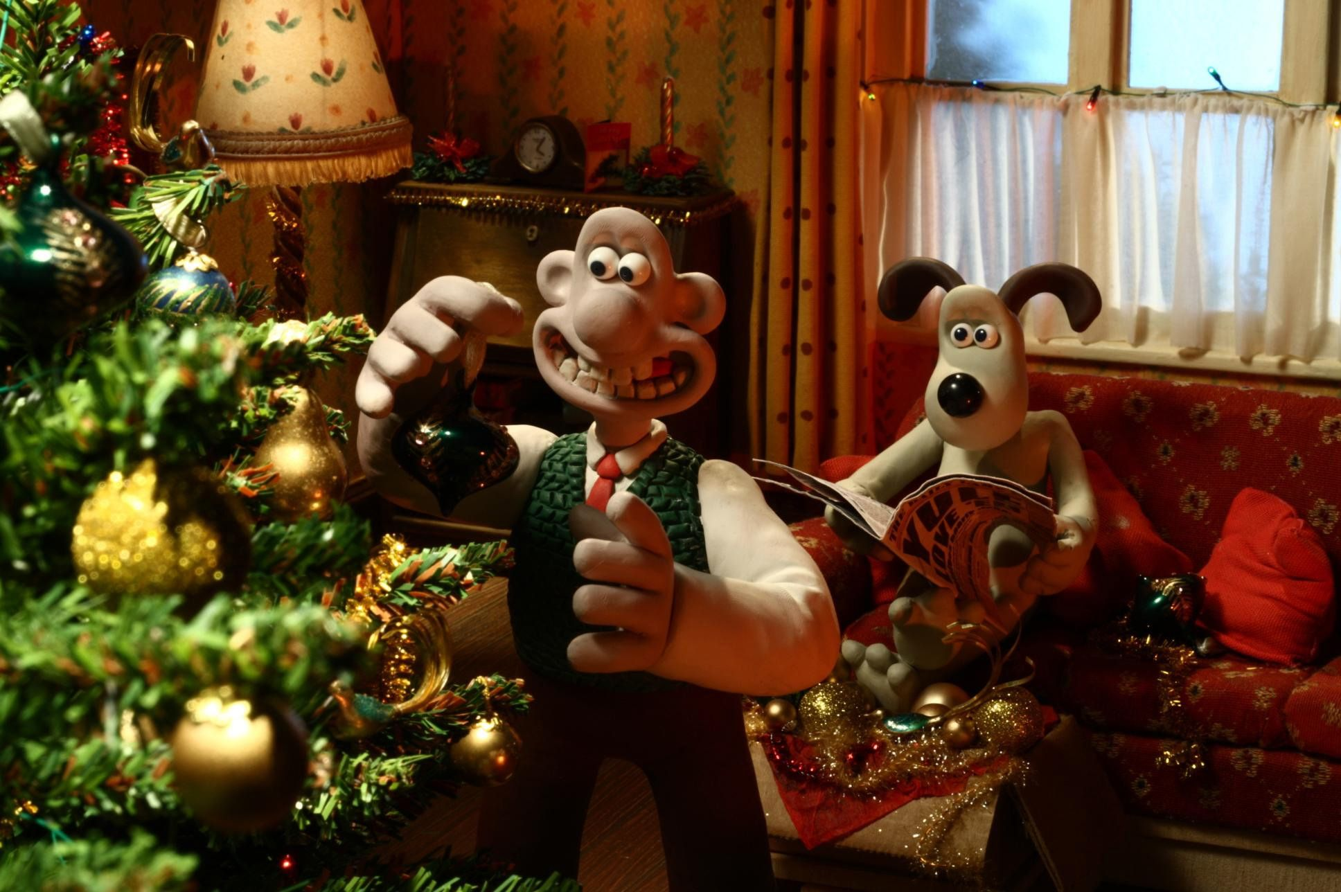 If you love the old Wallace and Gromit animations, you will ...