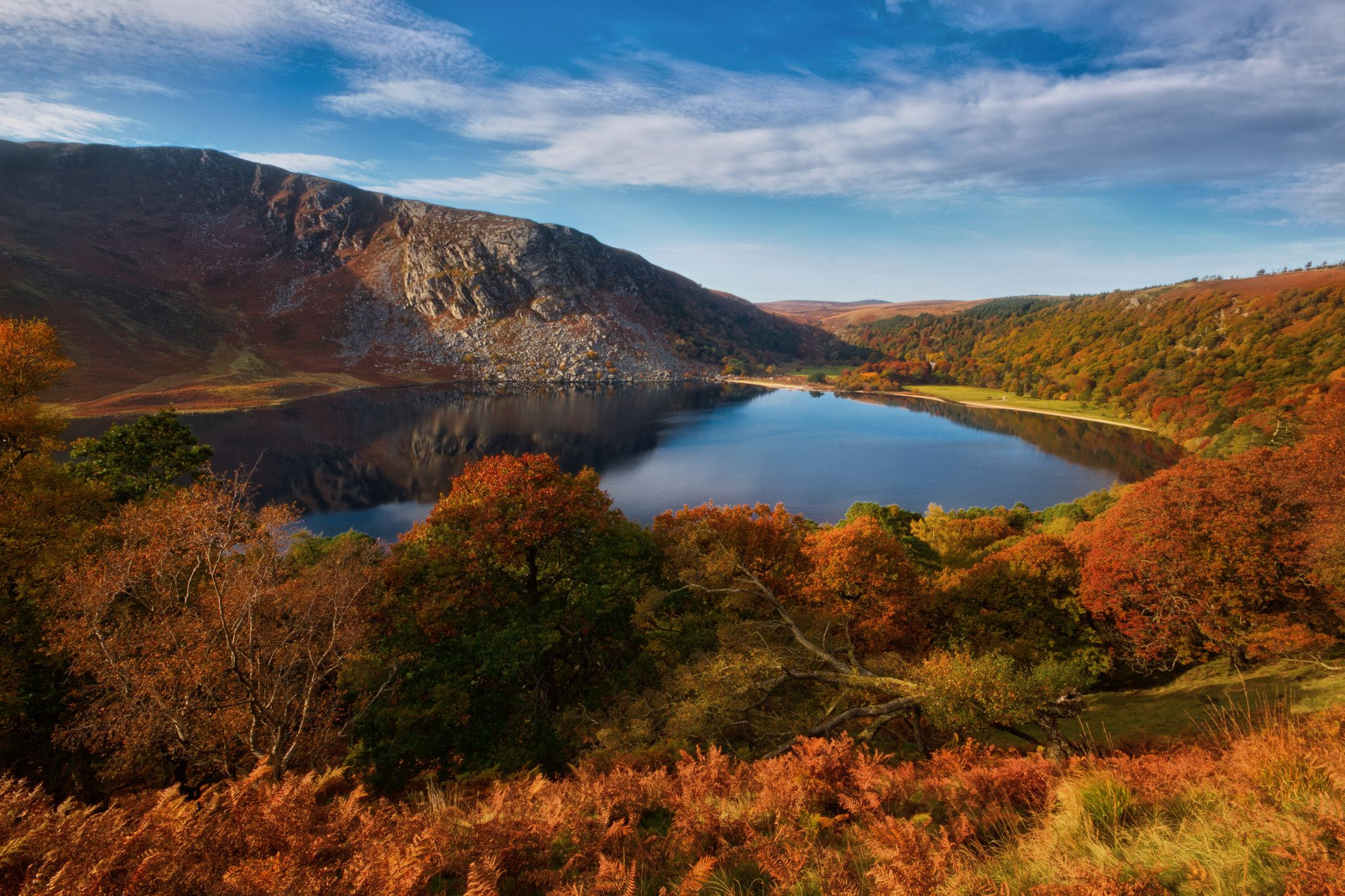https://flic.kr/p/NUiqb7 | Lough Tay | My first trip to Lough Tay in the Wicklow Mountains. A gorgeous spot especially at this time of year!