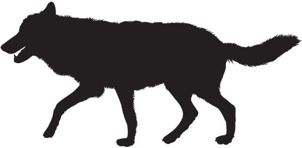 Wolf Silhouette Png Clip Art Image Wolf Silhouette Silhouette Png Art Images
