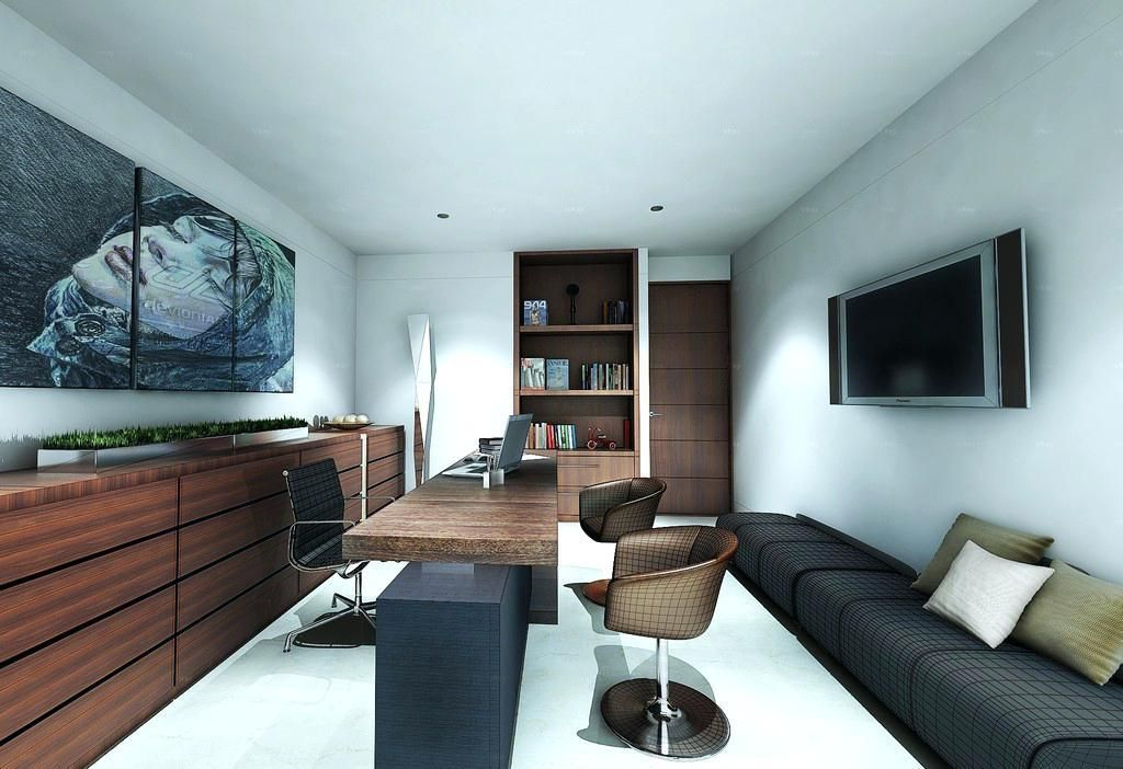 Modern Small Office Design Home Office Layouts Modern Office Design Small Office Design