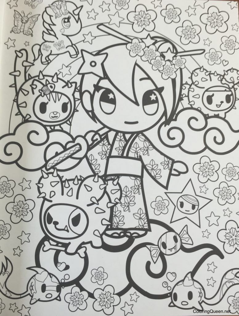 Tokidoki Coloring Pages Coloring Pages Tokidoki Characters Colouring Pages