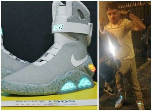 Liam bought the $7,500 back to the future ll limited nike sneakers! | Light up shoes, Kicks shoes, Nike