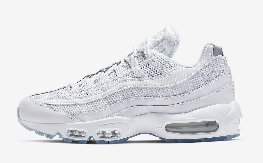 Nike Air Max 95 Essential White Silver 749766 115 Release