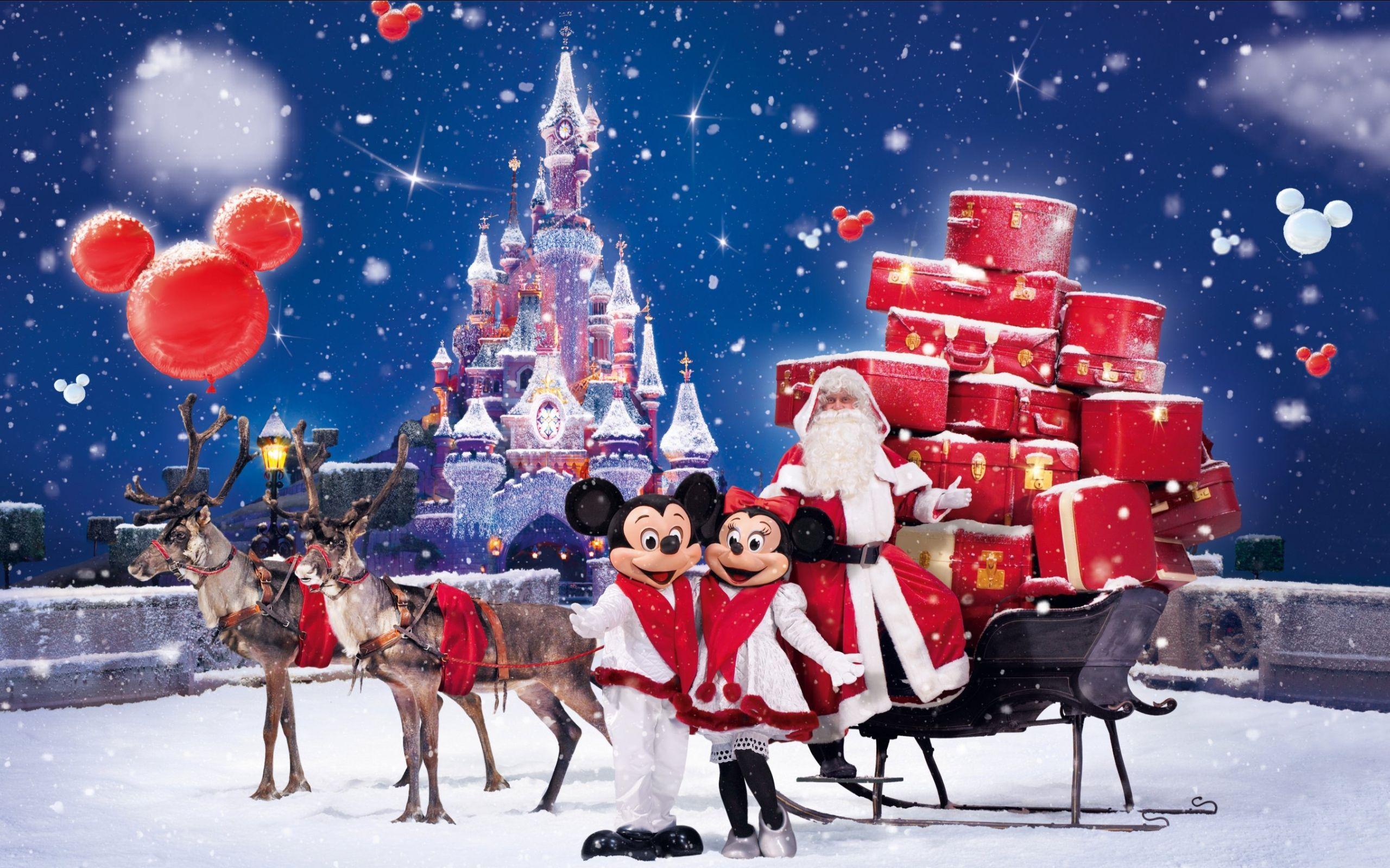 Christmas Computer Wallpapers Desktop Backgrounds 2560x1600 Id 471564 Disneyland Christmas Disney Christmas Happy Merry Christmas