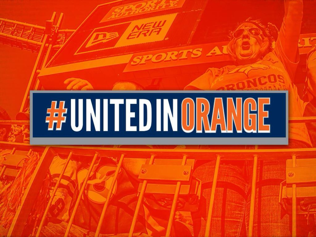UNITEDINORANGE Go broncos, Broncos fans, Broncos