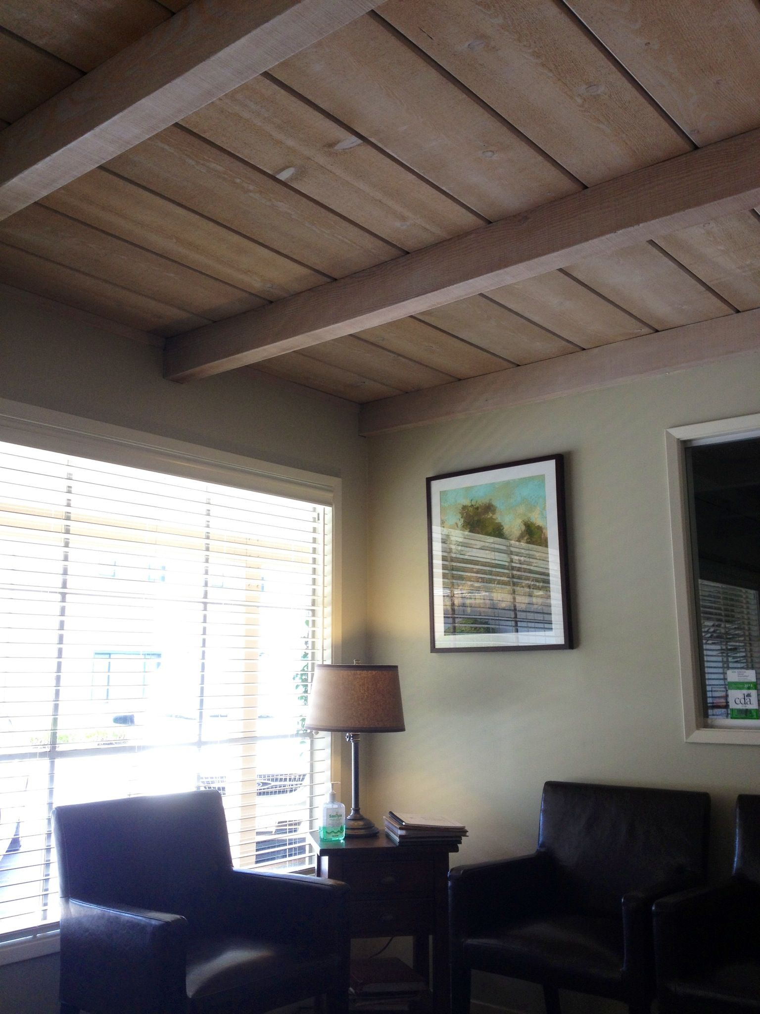 Beautiful Bleached Wood Ceiling Wood Stain Wood