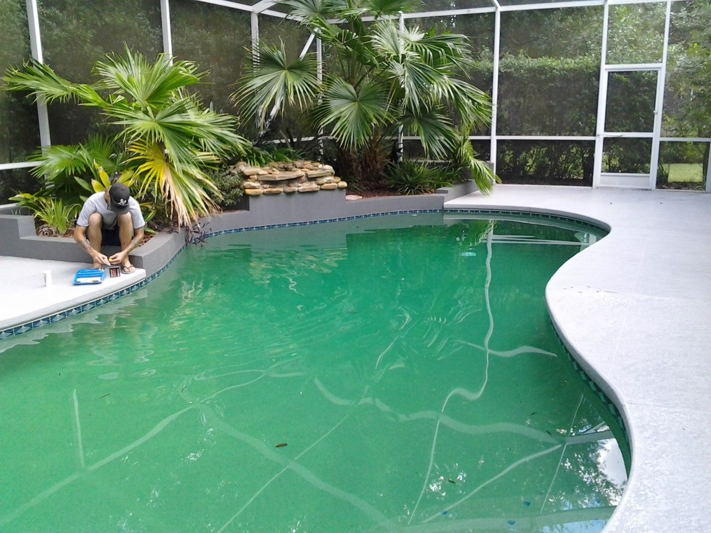Copper Stains In Swimming Pools Pool Operator Talk Pool Swimming Pools Swimming
