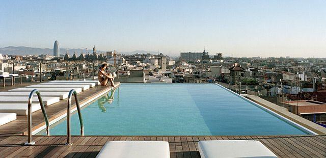 Grand Hotel Central In Barcelona Grand Hotel Barcelona Barcelona Hotels Hotel Pool