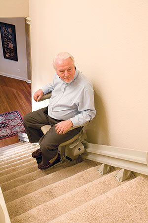 Stair Lift With Seat Adjustments Electric Stair Lift Indy Lux Stair Lift Stair Lifts Stairs