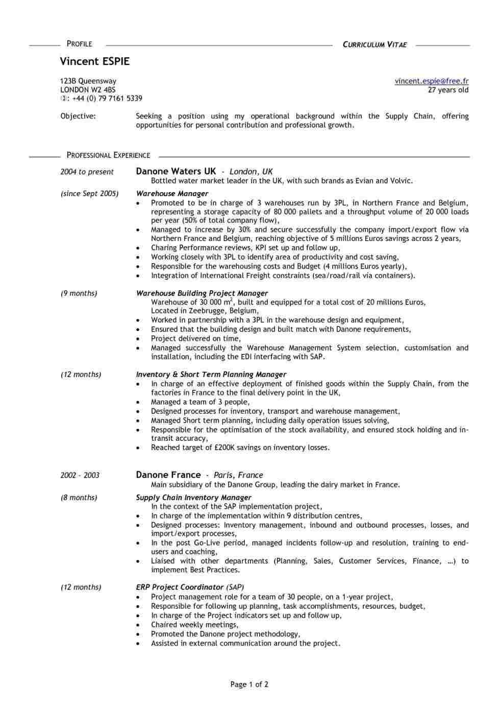 Cv Template 18 Year Old Good resume examples, Resume