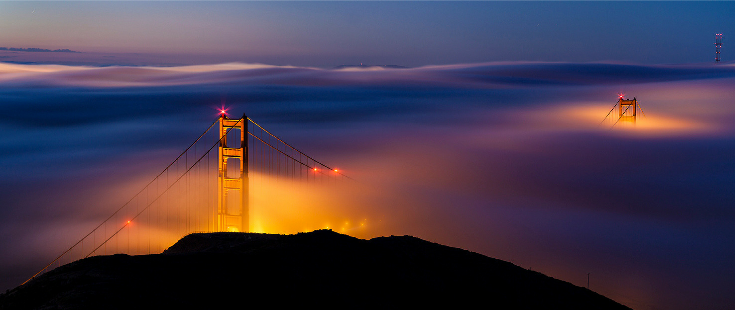 Wallpaper The World Below | San Francisco California [2560x1080] | High Quality Wallpapers | San ...