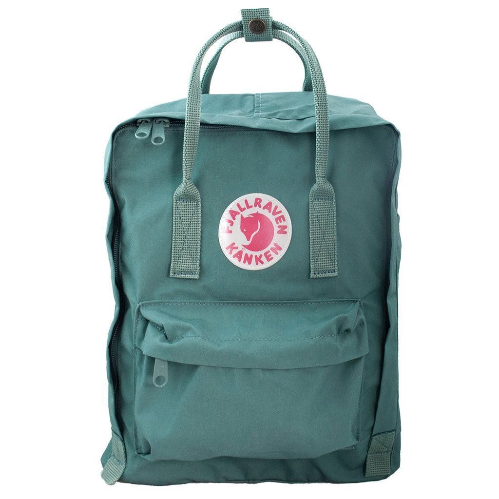 Fjällräven Kanken Backpack in Frost Green.more awesome colors at link
