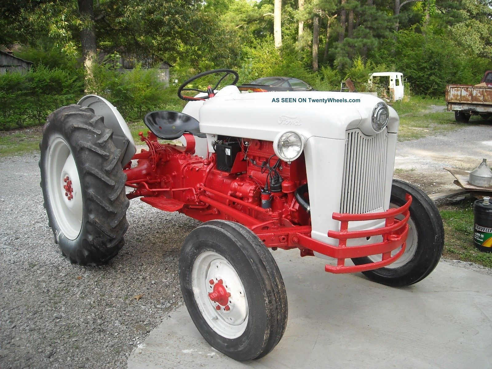 Ford Jubilee Tractor Ford Jubilee Naa 1954 Tractor Tracteur