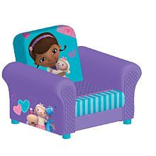 doc mcstuffins upholstered chair uk baby learning kid s stuff