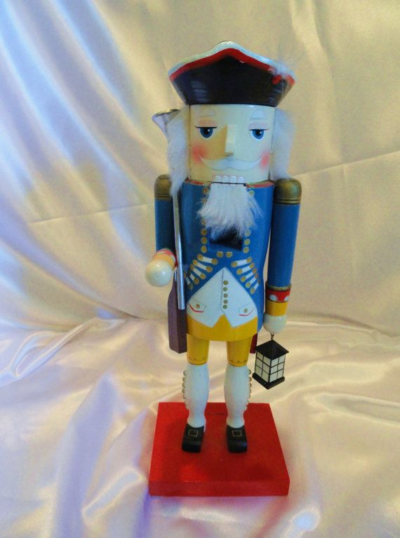 Paul Revere nutcracker beautifully painted and by VintageAdorables, $39.00