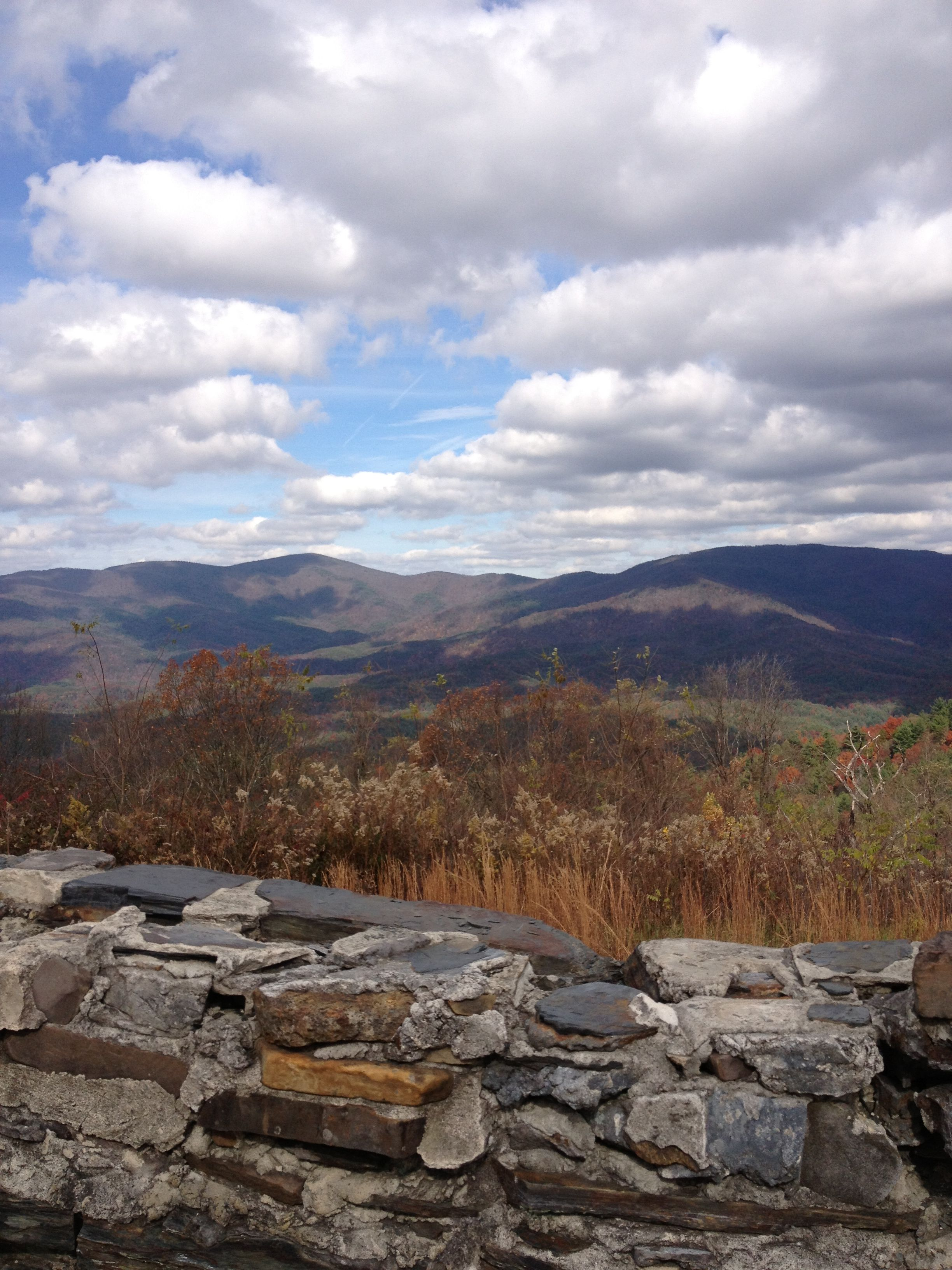 Thankful to have experienced this beautiful view! God is good!  Taken at Cohutta Overlook in Murray County, GA (KellyB.)