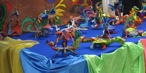 Elaboración de Alebrijes | Escuela Normal Serafín Peña