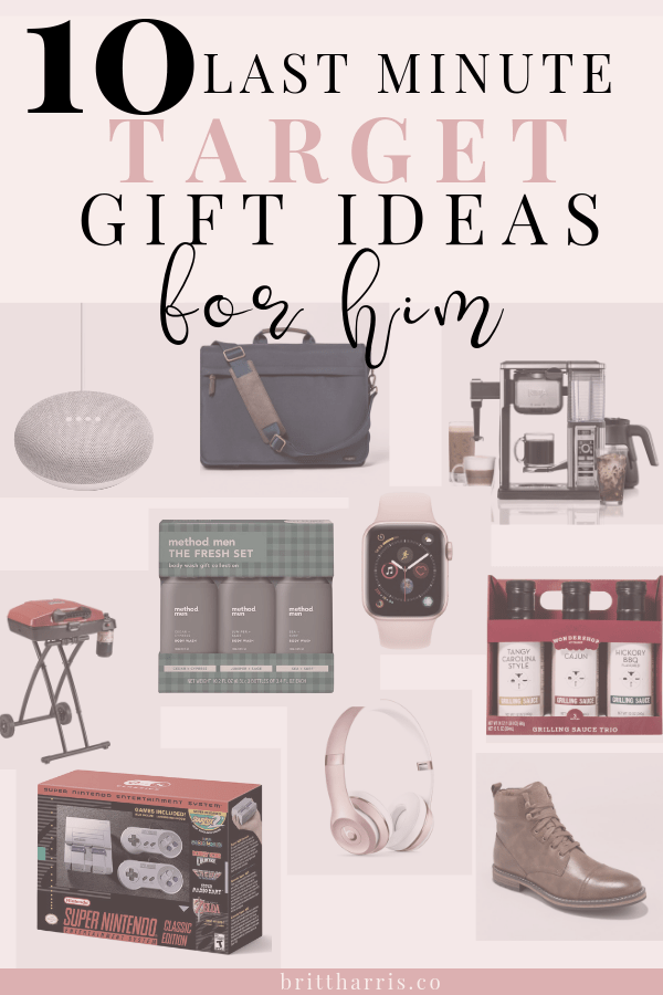 Here Are 10 Last Minute Gift Ideas You Can Get For Him At Target GiftGuide TargetGifts HolidayGifting