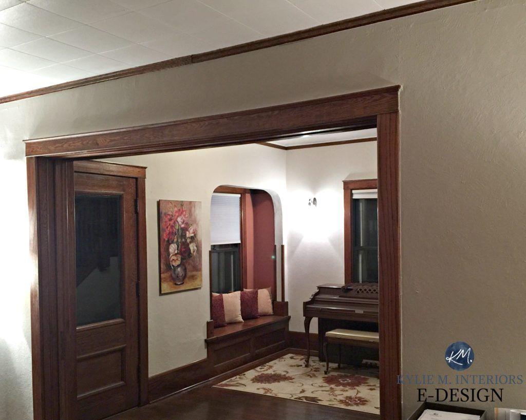Best Paint Colour Dark Wood Trim Sherwin Williams Balanced Beige Natural Tan Floor Doors Online Color Expert