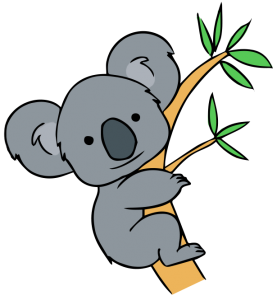free clip art koala forest animals pinterest clip art free rh pinterest com koala clipart outline koala clipart free