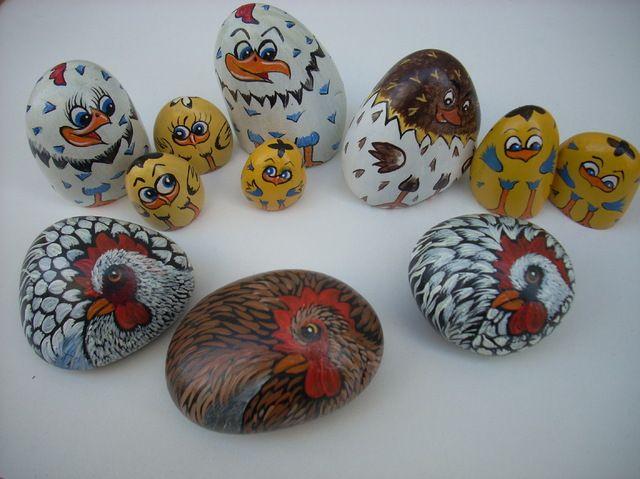 blog de coupdepinceau galets peints poules cailloux pinterest galets peints galets et poule. Black Bedroom Furniture Sets. Home Design Ideas