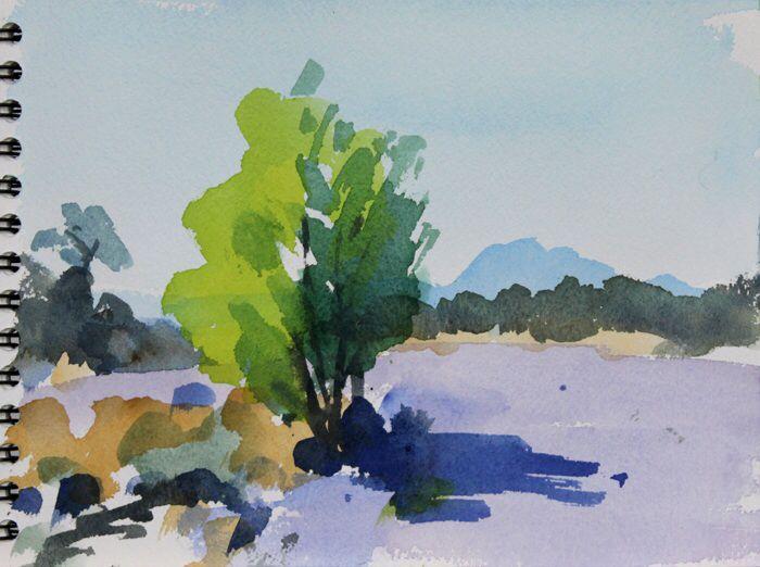 Buy Martel Watercolor By Martine Saint Ellier On Artfinder