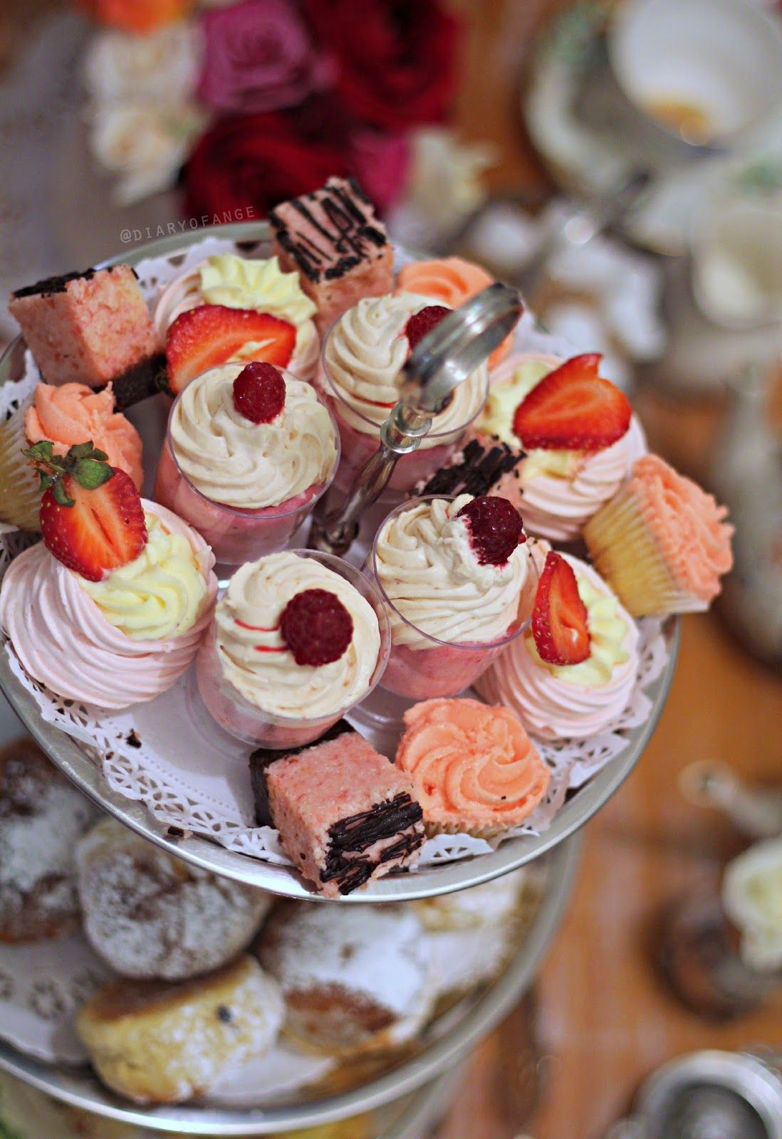 Diary of Ange: Maddison Cottage Guildford High Tea french pink Marie Antoinette style cakes and cupcakes  http://www.diary-of-ange.com/2015/03/maddison-cottage-guildford-high-tea.html