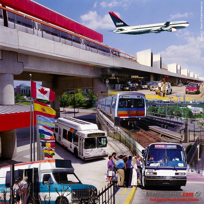 Transportation Collage Atlanta Transportation