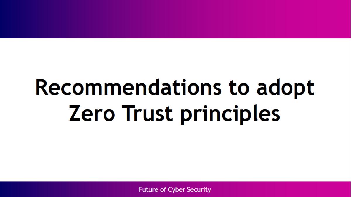 Pin on Zero Trust