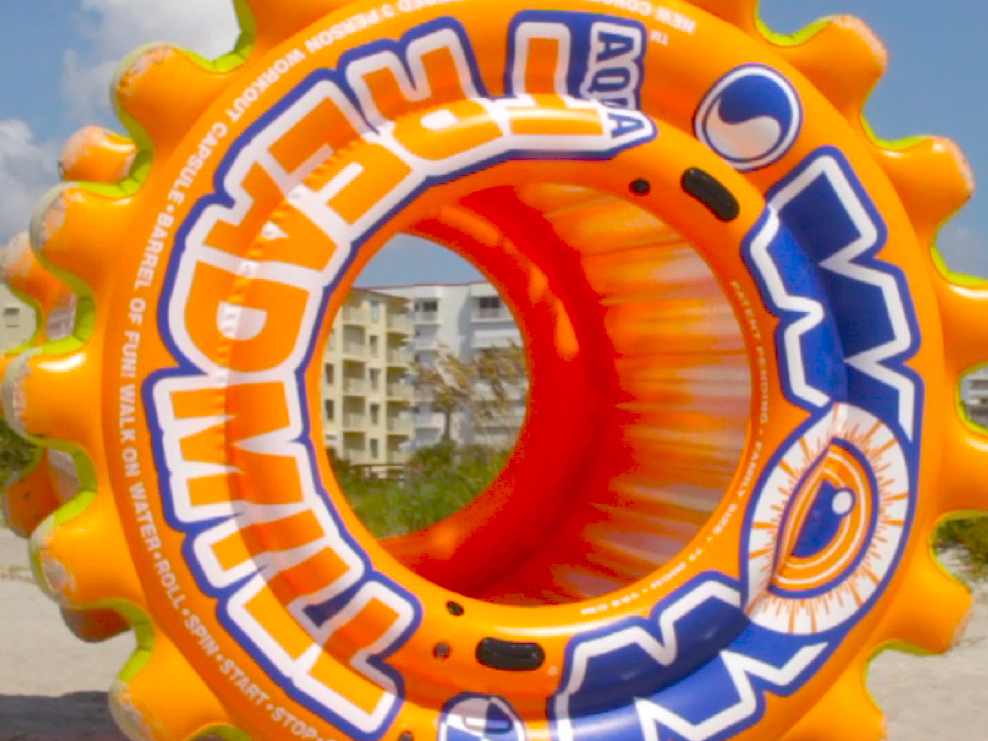 The Aqua Treadmill Is A Giant Hamster Wheel For Humans Hamster