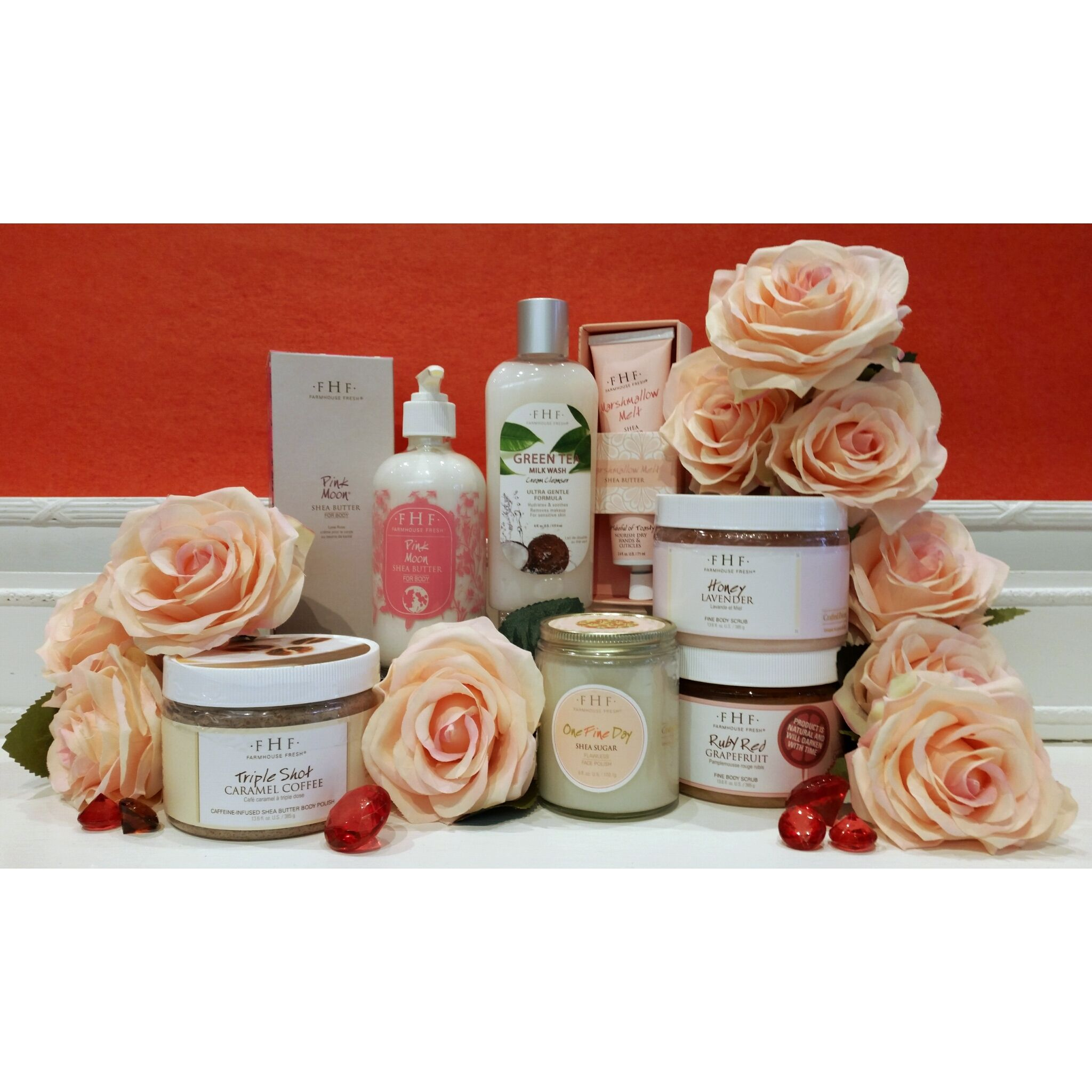PAMPER HER…. Farmhouse Fresh is an exclusive, decadent