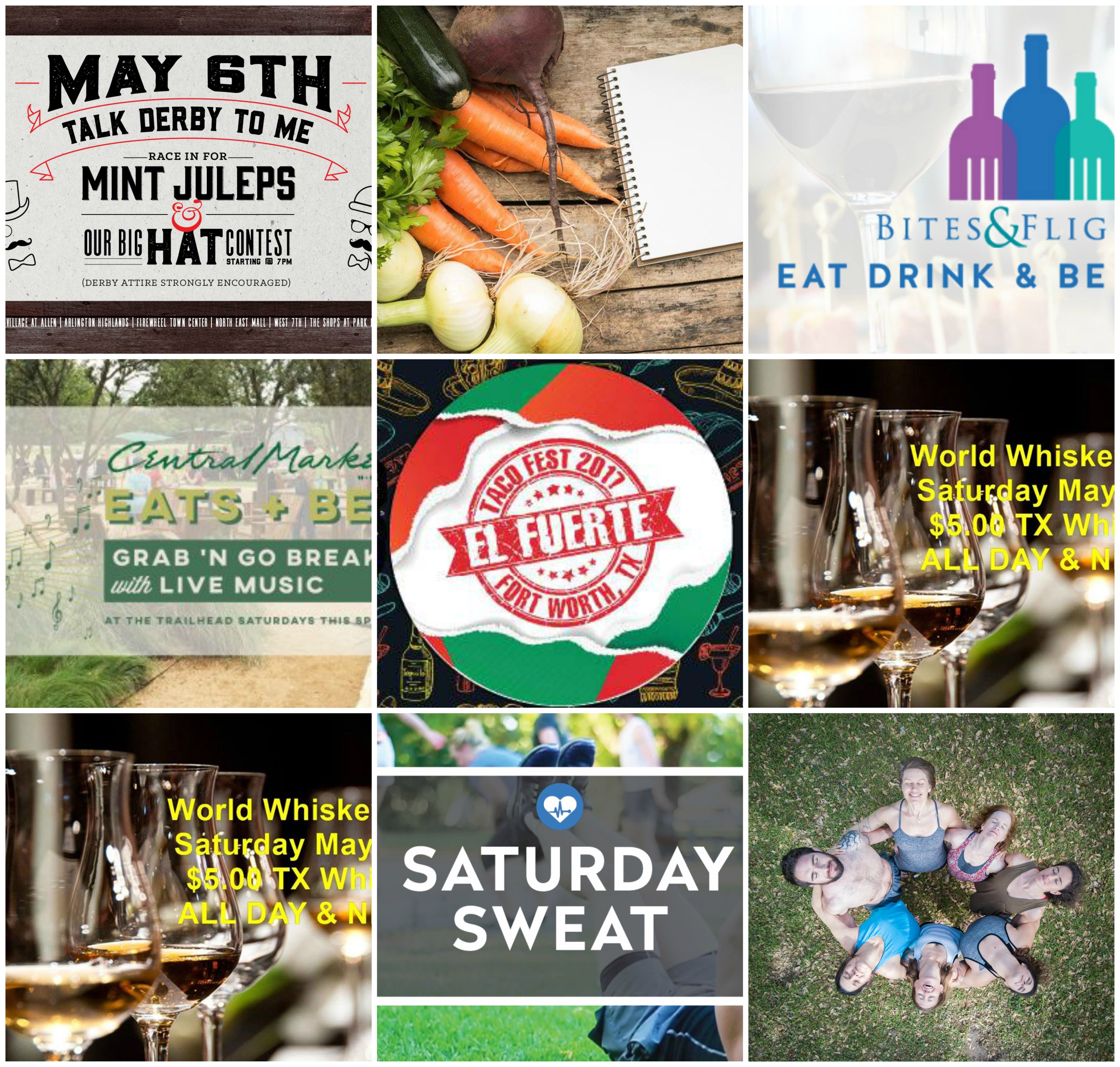 Fort Worth Food & Fitness Events in May