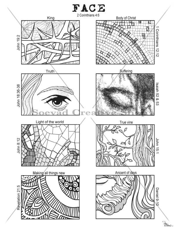 Coloring Page Bible Study Guide Dave OConnell