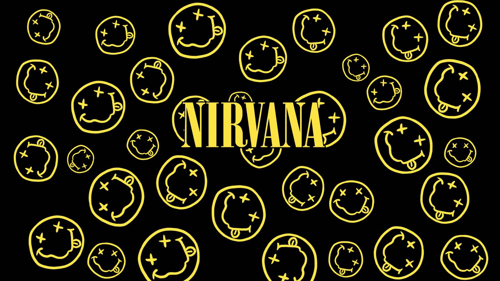 Nirvana Logo Wallpapers Wallpaper