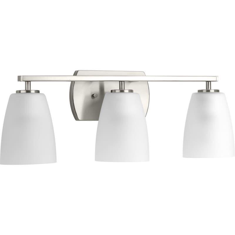 Progress Lighting P300133 Leap 3 Light 22 7 8 Wide Bathroom